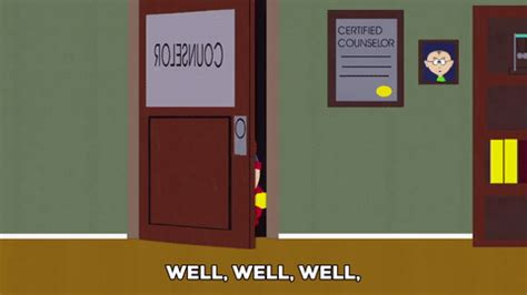 Door Bookcase Nervous Eric Cartman Gif By South Park Find Amp Share On Giphy