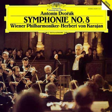 hebert von karajan dvorak symphony    lp analogphonic