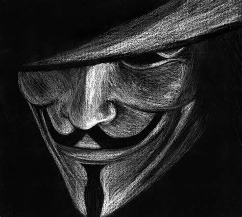 Drawing V For Vendetta by V For Vendetta By Oiea4 On Deviantart
