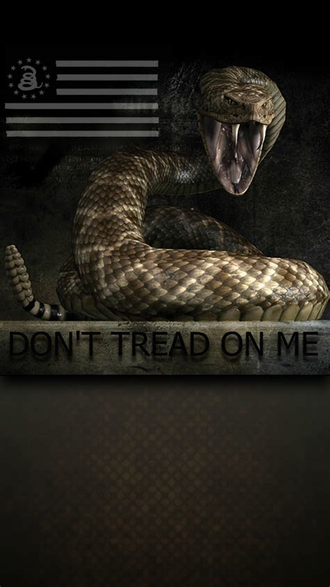 Dont Tread On Me don t tread on me 1080 x 1920 wallpapers