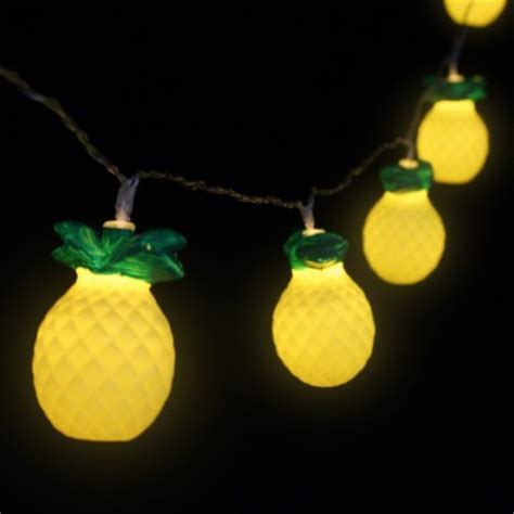novelty light strings pineapple string lights