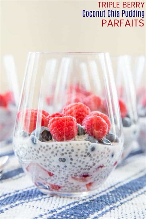 raspberry lime parfaits a light and refreshing brunch dessert berry coconut chia pudding parfaits cupcakes kale chips