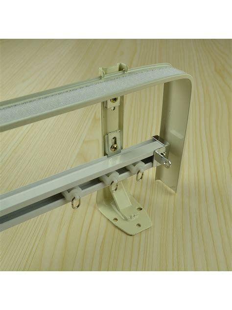 curtain track double chr7725 wall mounted double curtain tracks and rails with