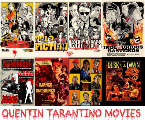 quentin tarantino quanti film quentin tarantino movies by tocaimacomics on deviantart
