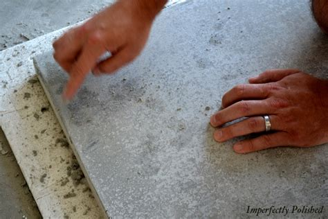 Concrete Countertops Wax by Diy Concrete Counters Sand Seal Wax And Enjoy