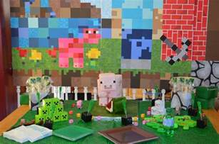 minecraft decaration cake ideas and designs