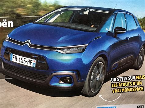 2020 New Citroen C4 by 2020 Citro 235 N C4 Picasso Iii
