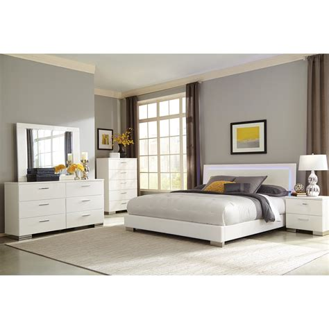 Eastern King Bedroom Set paulina 4pc eastern king bedroom set