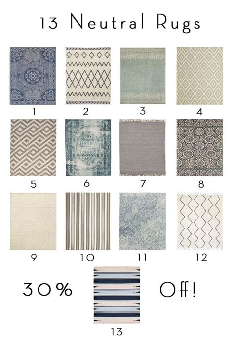 Outdoor Kilim Rug by 13 Neutral Rugs 30 Off