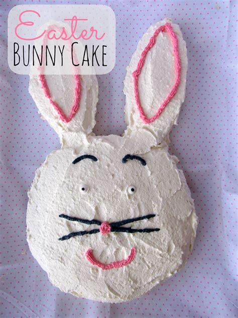 easter bunny cake easy mommysavers