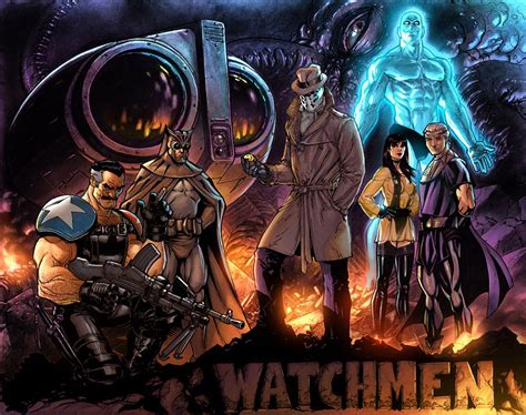 watchmen art of the ws watchmen by jprart on