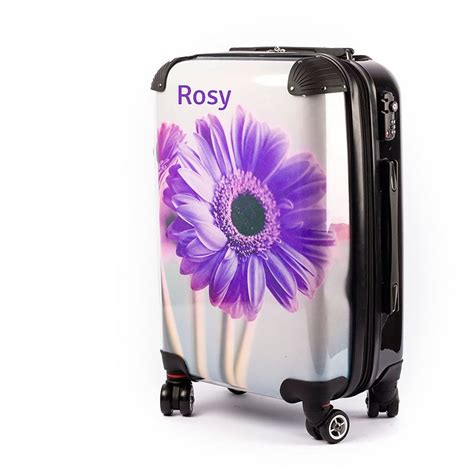 personalised suitcase personalise your luggage with