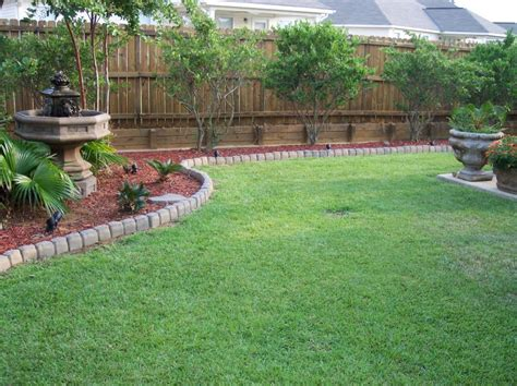 Backyard Ideas Landscaping Landscaping Ideas For Square Backyard Pdf