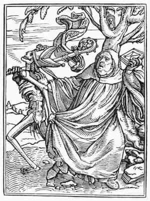 Holbein the '16th-century Hebdo': artist's woodcuts are