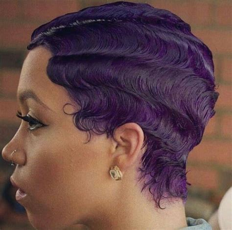 what is a wave nevo hair style purple finger waves short hair style natural