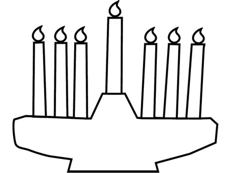 coloring pages for kwanzaa candle holder kwanzaa candles coloring page coloring coloring pages