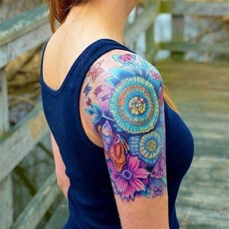 quarter sleeve daisy tattoo 30 beautiful tattoos for girls 2018 meaningful tattoo