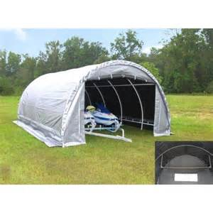 Portable Canopy Walmart by King Canopy 10 X 20 Dome Garage Canopy In Silver