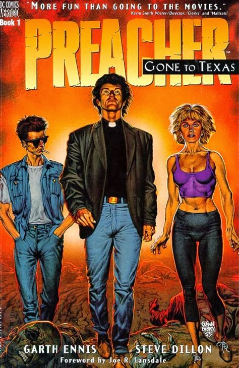 Preacher Book 3 By Garth Book Dirt All Hallow S Read 6 Recommended Books For Giving You And Your Friends The Creeps