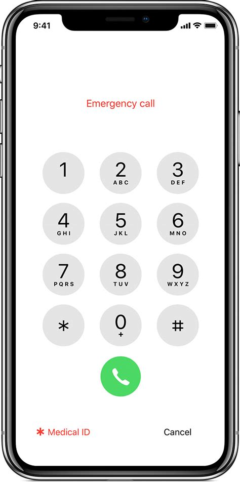 make an emergency call from a locked iphone apple support