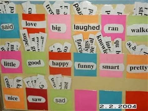 themed areas synonym vocabulary cards word wall ideas