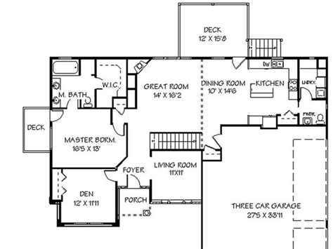 how to draw a house plan house plans with steps home deco plans
