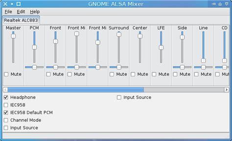 alsa tutorial linux journal gnome alsamixer linux mint community
