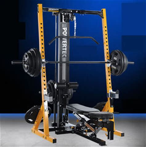 powertec ab bench look powertec workbench half rack