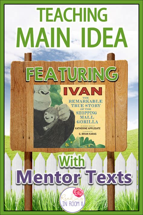 picture books to teach idea teaching reading and writing with mentor texts idea