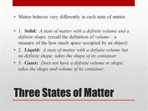 matter meaning in grade 7 science ms willis lawfield ppt