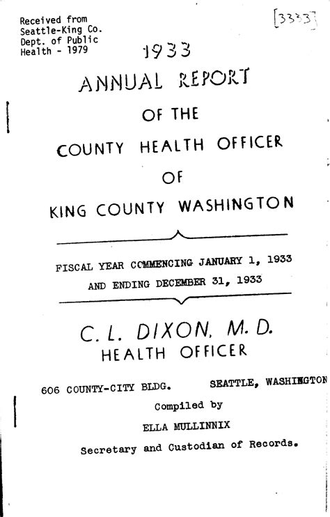 King County Records Hooverville King County