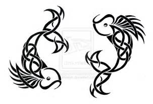 pisces tribal tattoo by weslyn on deviantart