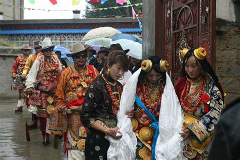 tibetan style tibetan style wedding ceremony held in sichuan tibet