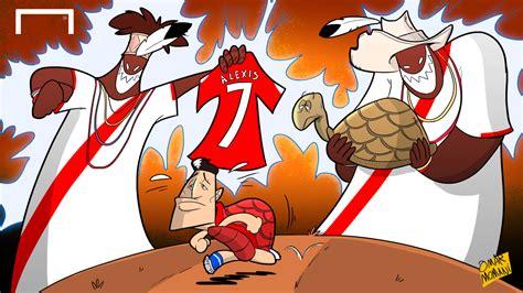 alexis sanchez cartoon alexis sanchez turtle hex cartoon goal com