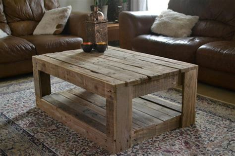 Easy Pallet Coffee Table Pallet Coffee Table Plans Recycled Things