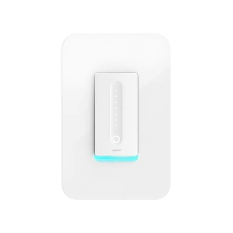 light switches compatible with google home amazon com wemo dimmer wi fi light switch works with