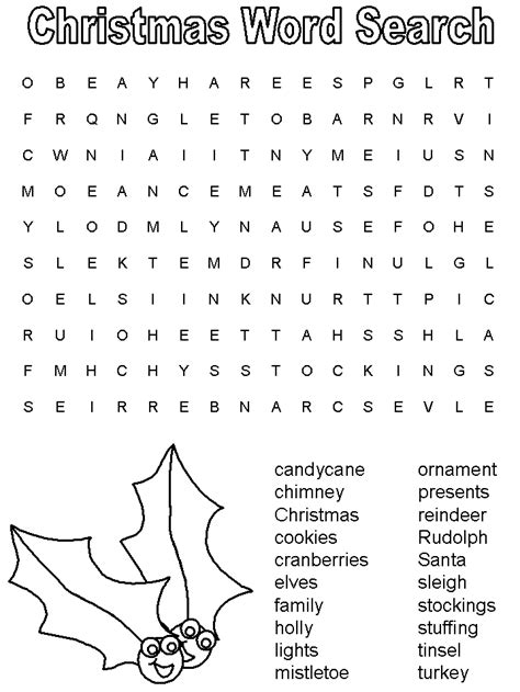 printable word searches that you can make template teaching english pinterest christmas word