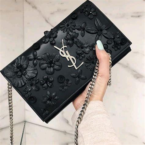 Wallet Bag Flower yves laurent flower chain wallet bag bragmybag