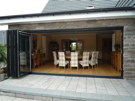 bi folding patio doors aj ralston glasgow edinburgh scotland