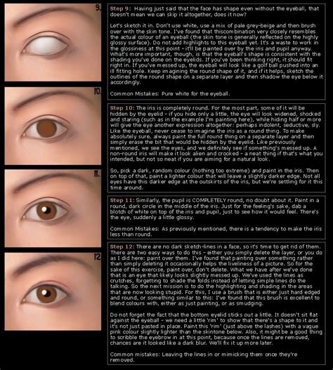 spray paint eye tutorial help me draw how to paint realistic