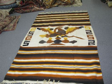 Rugs Or Blankets by Vintage Folk American Mexican Blanket Weaving