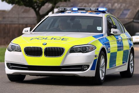 police car bmw gains uk police approval announces 330d saloon