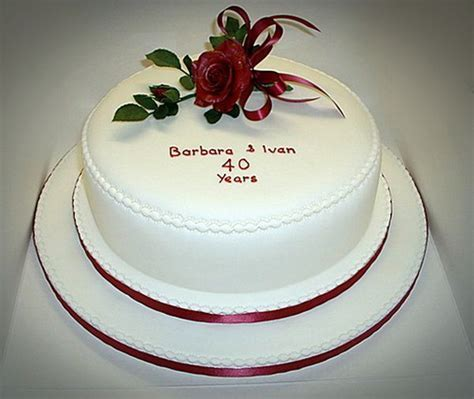 16 best images about Romantic Anniversary Cake Ideas on