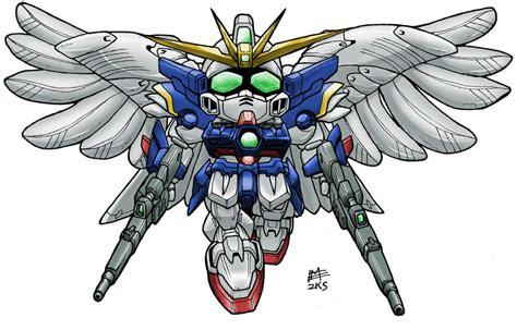 Sd Wing Zero Custom Gundam New Mib Endless Waltz Yolly sd gundam wing zero custom say cheese