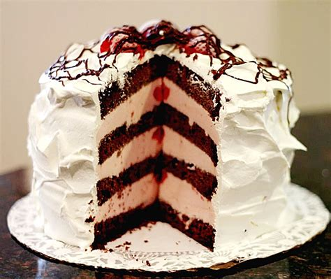 icecream cake wilkinsonquints layered cake recipe