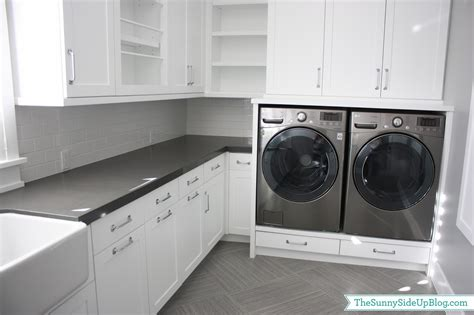 Build My Room downstairs laundry room the sunny side up blog