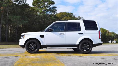 white land rover lr4 with black wheels 2016 land rover lr4 discovery hse black package 11