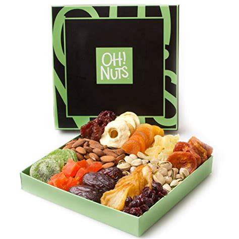 christmas holiday gourmet food baskets nuts gift basket mixed nuts 7 different nuts five star gift baskets nut and dried fruit gift basket healthy gourmet snack food box great for