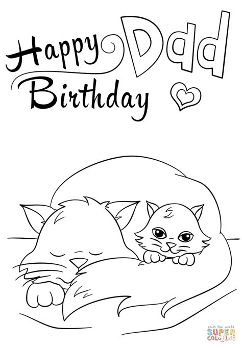 happy birthday coloring pages happy birthday coloring page free printable coloring