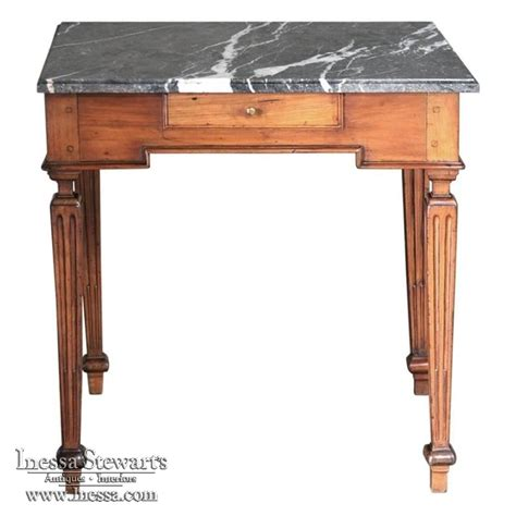 marble top end tables 18th century country marble top end table inessa